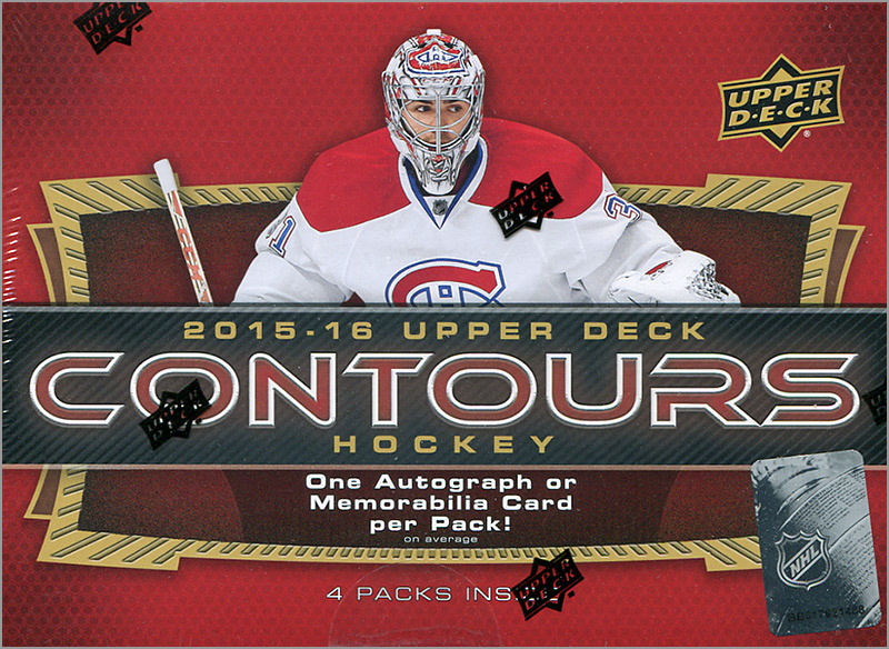 Box Break: 2015-16 Upper Deck Contours Hockey