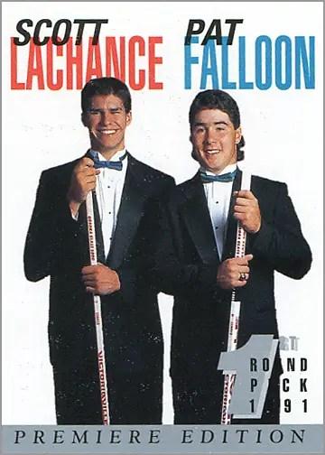 1991-92_Arena_32_Falloon_Lachance