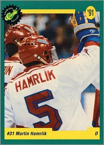 1991 Classic Draft #27 - Martin Hamrlik