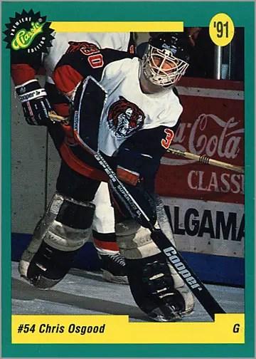 1991 Classic Draft Picks #43 - Chris Osgood