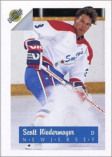 1991-92_Ultimate_3_Scott_Niedermayer
