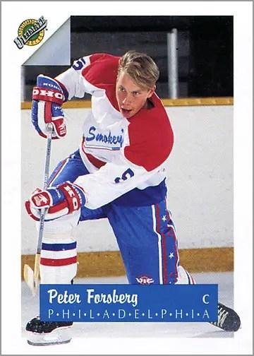 1991-92_Ultimate_5_Peter_Forsberg