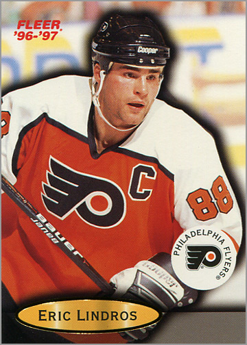 2132a6c3f81 Career in Cards: Eric Lindros - Puck Junk