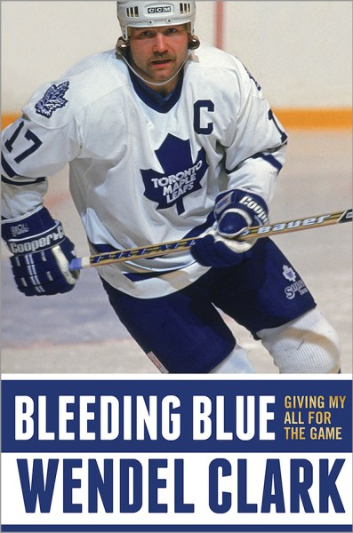bleeding_blue_book_cover_wendel_clark