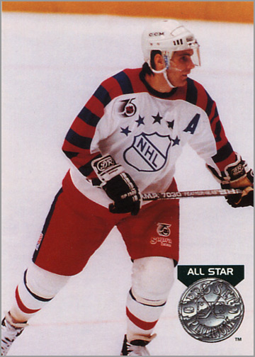 #278 - Ray Bourque, Platinum All-Star (view back)