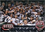 Chicago Steel 2017 Clark Cup Champions Trading Card
