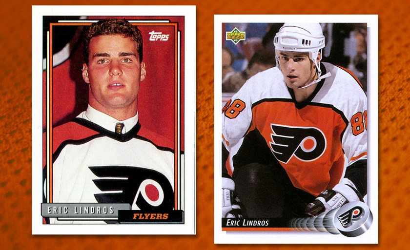 "Eric Lindros Was Hockey's First ""Investible"" Player with Collectors"