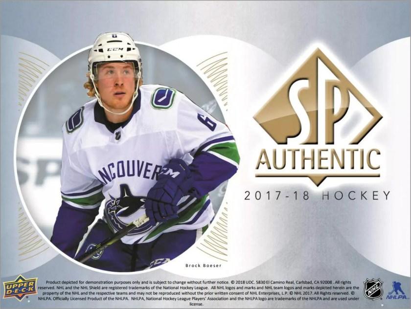 Box Break: 2017-18 SP Authentic