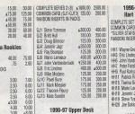 1996-97 Upper Deck Game Jerseys