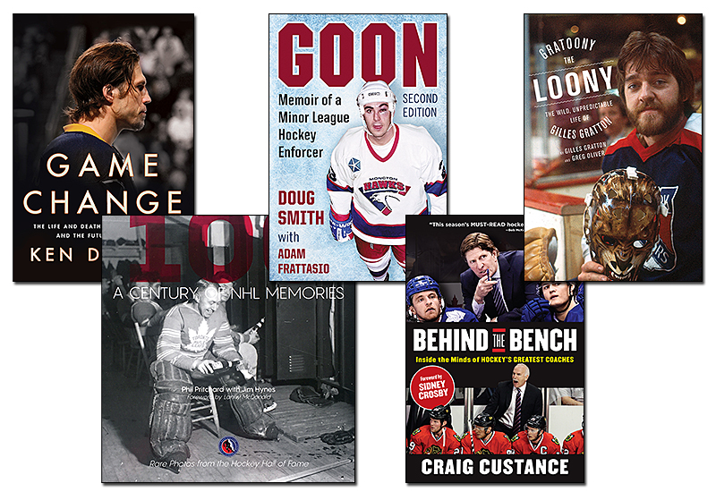 The Five Best Hockey Books of 2017-18