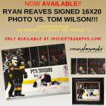 Was Ryan Reaves Autographing Tom Wilson Injury Photo Going Too Far?
