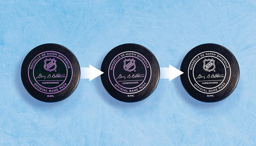 The Thermochromic Puck: Hockey's Latest and Greatest Achievement