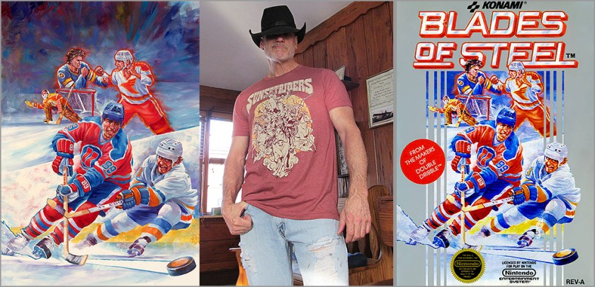 Interview: Tom DuBois, Blades of Steel box cover artist