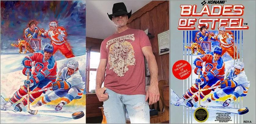 Interview: Tom DuBois, Blades of Steel box cover artist