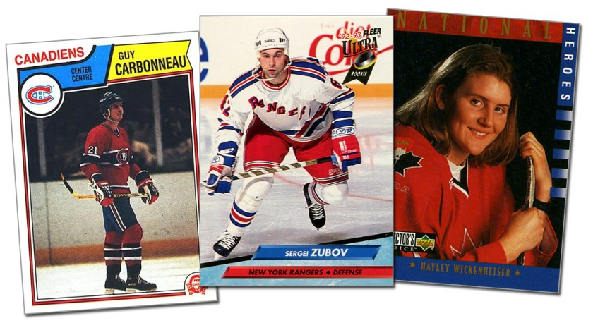 Rookie Cards of the Hockey Hall of Fame Class of 2019 Inductees