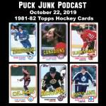 Puck Junk Podcast: October 22, 2019