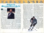 1990-91 NHL Season Preview: A Special Advertising Supplement