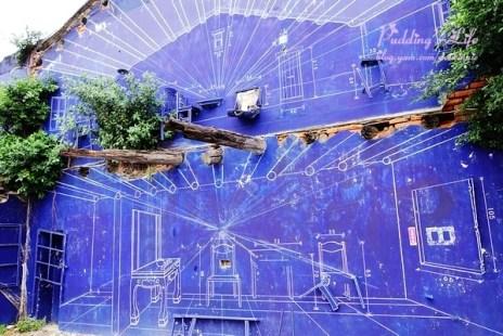 【遊記-台南】府城熱熱蛇-海安路藝術街與神農老街漫步《藍曬圖》越夜越美麗