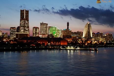 【東京自由行】橫濱一日遊《紅磚倉庫》推薦橫濱夜景~太美太浪漫Day5