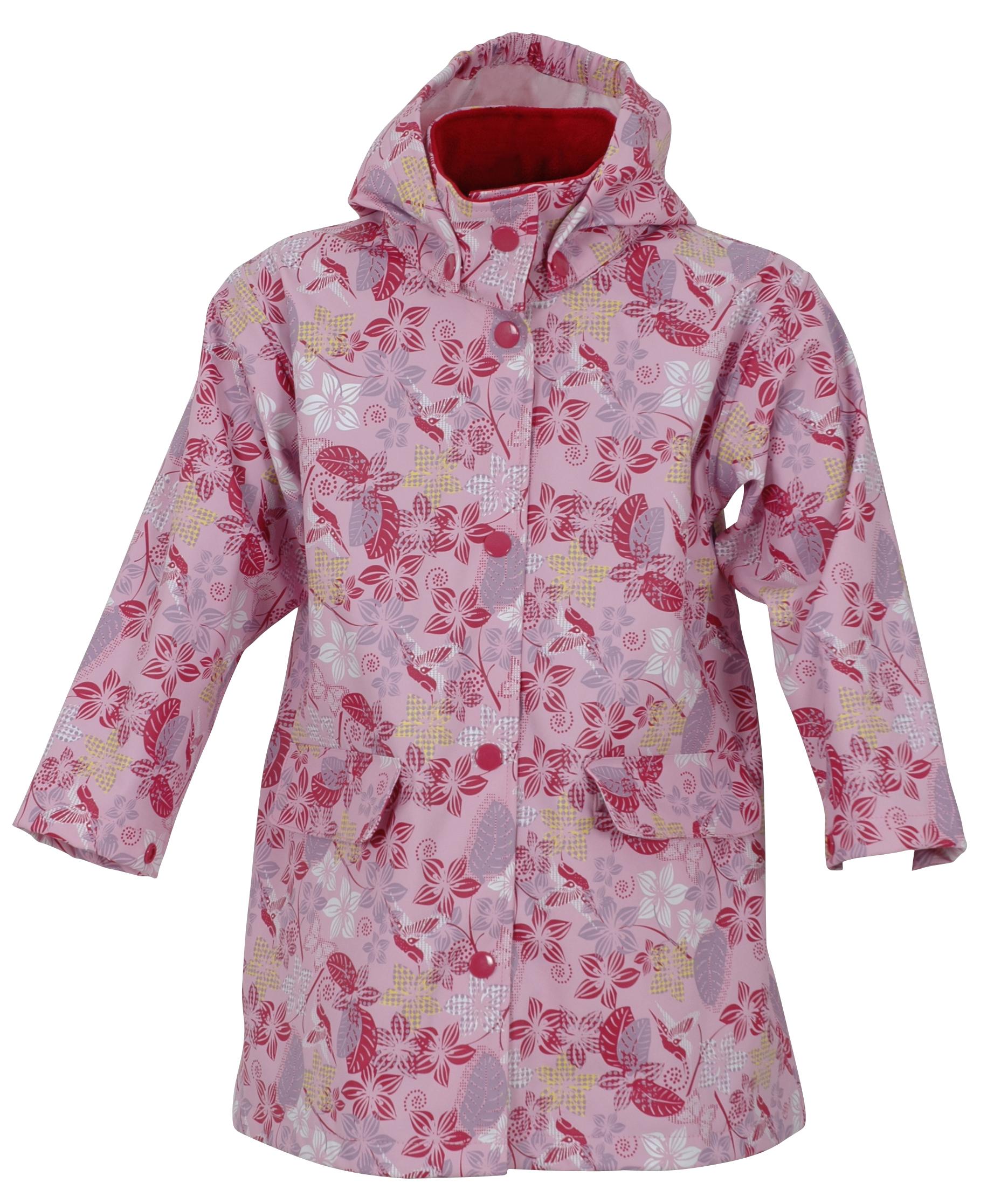 Rose Petal Raincoat