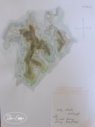 Photo - Fantasy World Sketch (1)