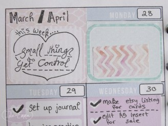Photo - Weekly Planner View Close-up (3)