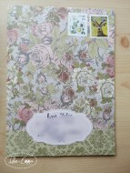 Photo - May 2016 - Outgoing - Floral Envelope