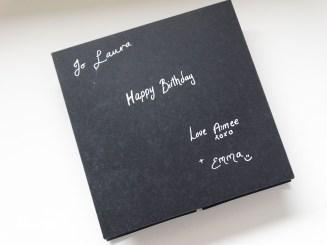 Photo - Black and Gold Napkin Fold Card (3)