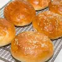 Homemade Hamburger Buns (Bread Machine)