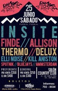 Punk Rock Fest 2016, sábado 25 de junio 2016, Salón Country Club Puebla