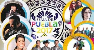 Foro Artístico de la Feria de Puebla 2017, cartel completo