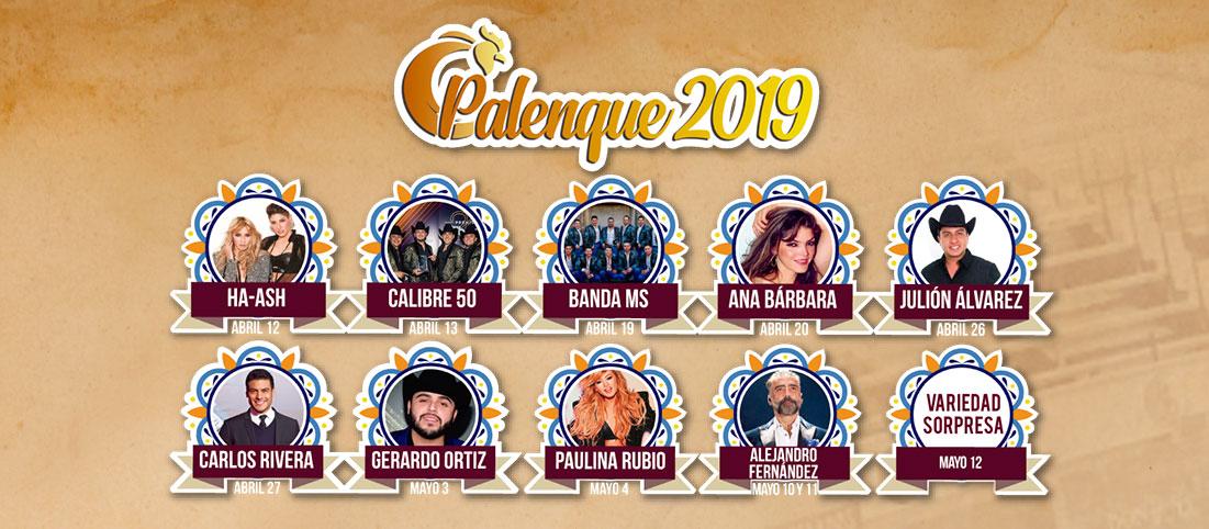 Cartel del Palenque: Feria de Puebla 2019