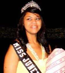 2013-2014 Pueblo Juneteenth Queen Bailey Jade Ford