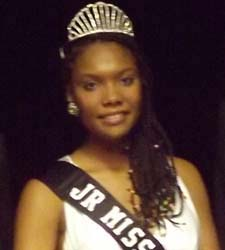 2013-2014 Junior Miss Pueblo Juneteenth Claudia Gonzales