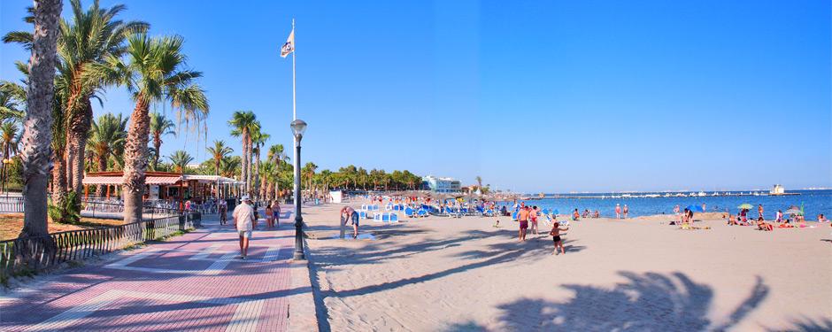 Los Alcázares en el Mar Menor