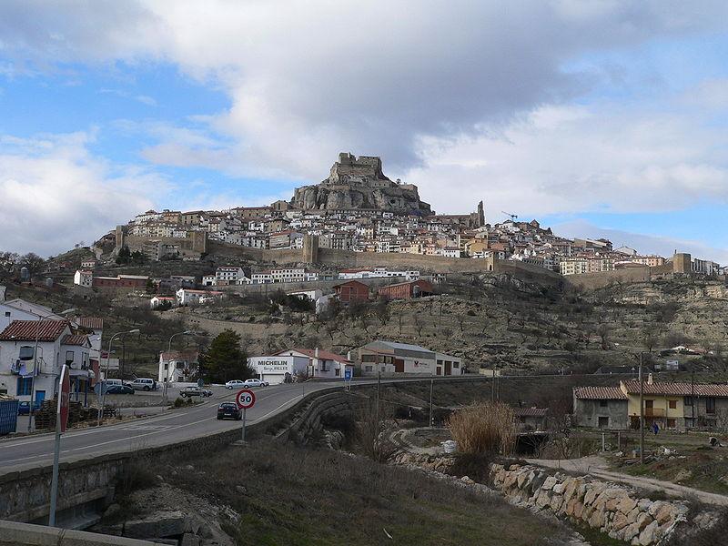 Morella y su Castillo desde Castellón