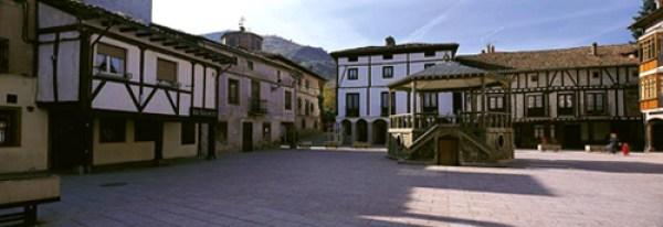 Ezcaray, Logroño, plaza