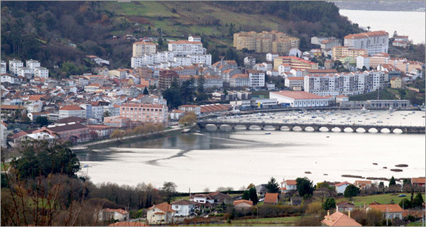 Pontedeume en Galicia