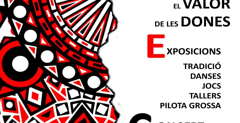 Cartel de la Feria +PAR100 en Parcent
