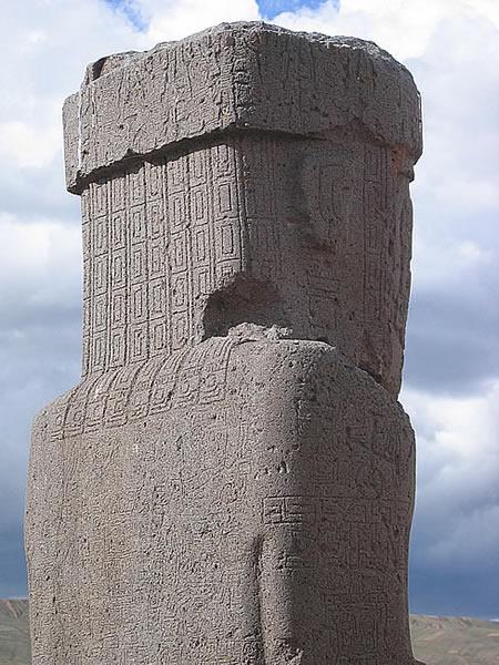 Iconograf 237 A Y Escritura En Tiwanaku Tiahuanaco