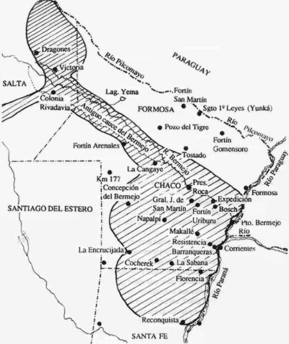 Chaco argentino: Fin de los Grandes Cacicazgos.