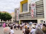 Nueva jornada reivindicativa en Quintanar del Rey contra la ganadería industrial