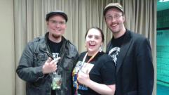 Me and the Walkers, Rob and Doug!