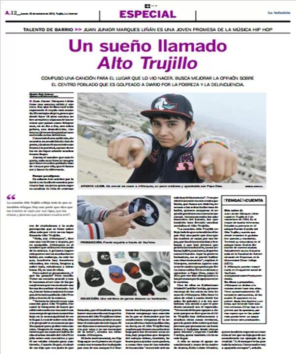 Zeitungsartikel Junior Nov 2013