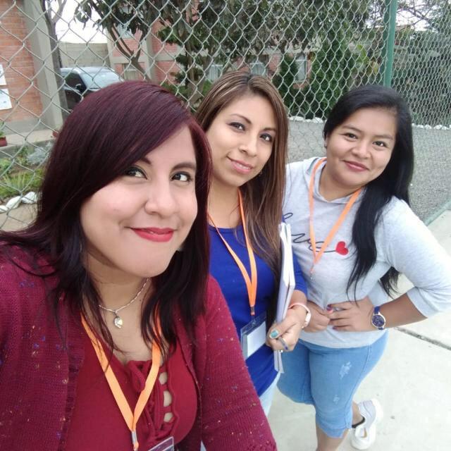 v. l. n.r.Roxana,Patricia und Rosa
