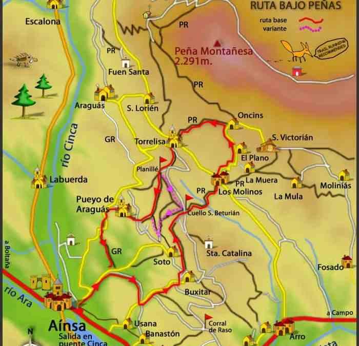 RUTAS BTT PIRINEO – ZZ-007 Ruta Bajo Peñas