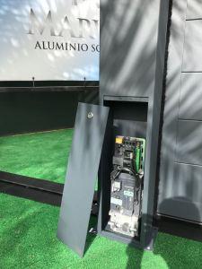 Novedades en puertas automáticas - Nuevo sistema Marver integra. Sistema Pilar+Motor