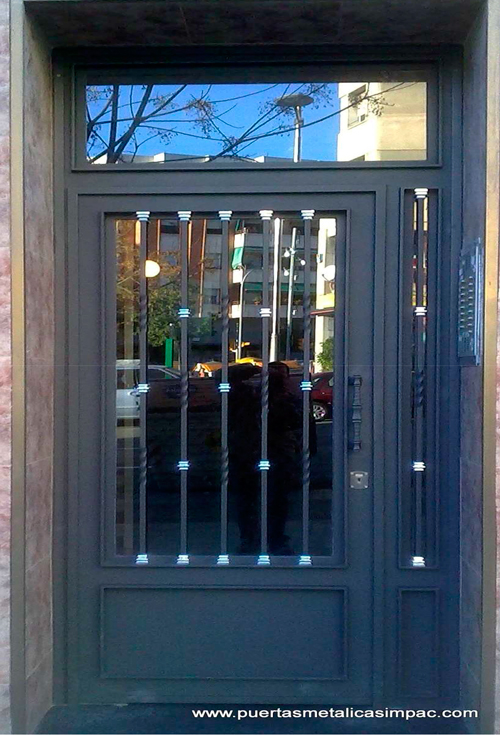 puertaporteria5  Impac Puertas Metlicas