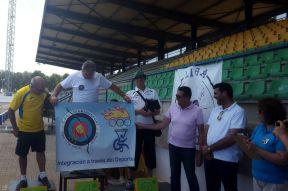 Miguel Ángel Guijarro 3º veterano recurvo