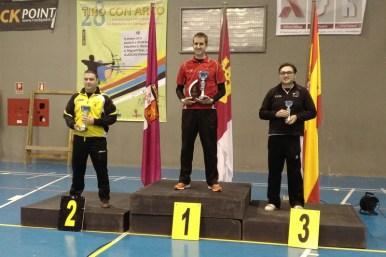 José Ramírez 1º Fernando Buitrón 3º